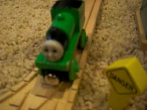 Percy Takes The Plunge Thomas Friends Wooden Railway Remake