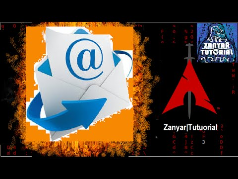 How to find out email servers of domain in BLACK ARCH LINUX