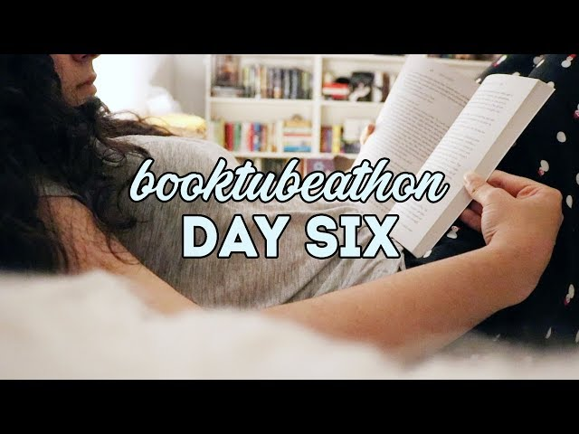 BOOKTUBE-A-THON VLOG | Day 6