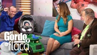 Carlitos 'el productor' llevó a su bebé Sebastián a El Gordo y La Flaca thumbnail