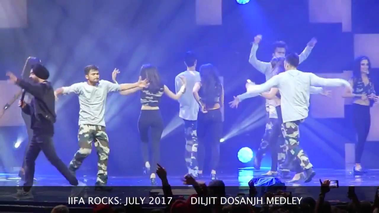 IIFA Awards 2017- Diljit Dosanjh Full Performance