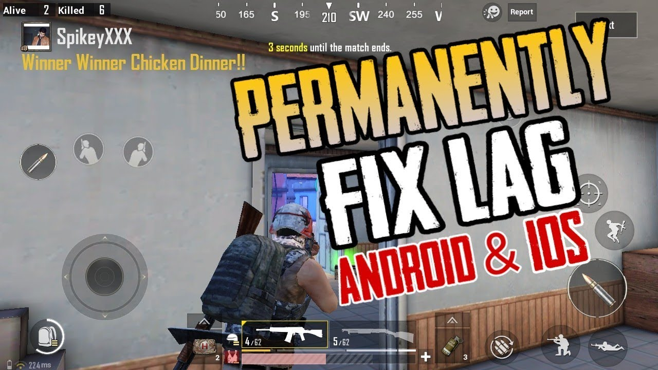 How To Permanently FIX LAG in PUBG MOBILE - Android & iOS
