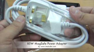 85W Magsafe Power Adapter(85W Magsafe Power Adapter compatible only MacBook Pro and MacBook Computers. www.imaicafe.com twitter : http://www.twitter.com/imaicafe Facebok ..., 2011-01-15T11:08:27.000Z)