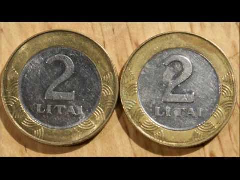 2 Litai 2008 and 2008 ERROR Lithuania