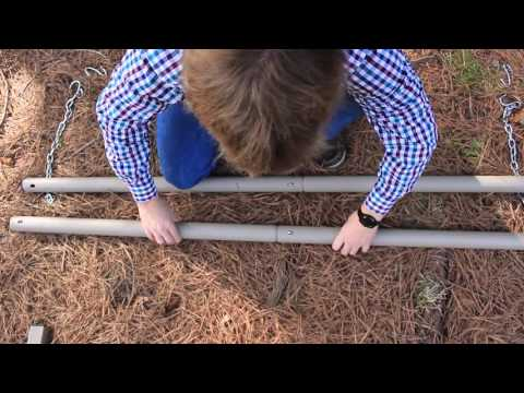 How to Assemble a Metal Hammock Stand from Essentials by DFOhome