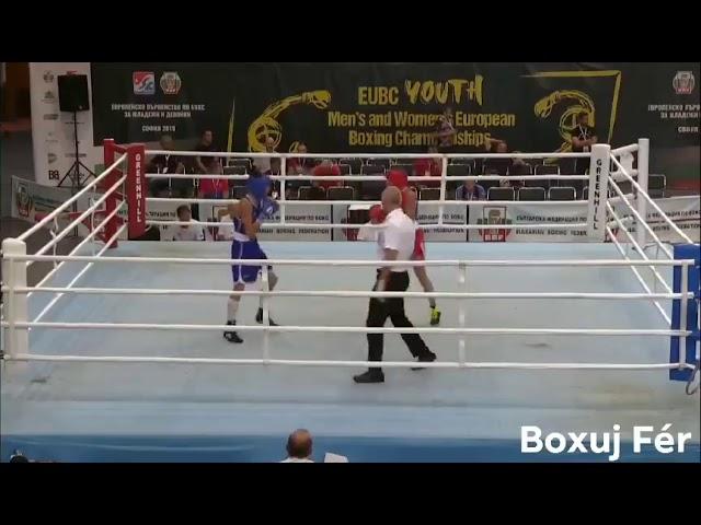 BC Star Plzeň - Lenka Bernardová - UBC Youth European Boxing Championships SOFIA 2019 - 3. zápas