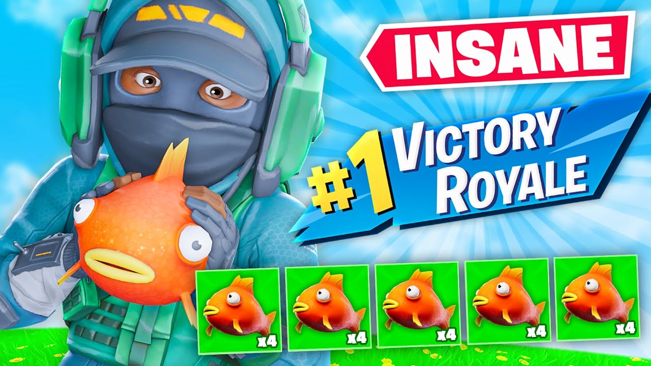 THE BEST FISH EATER IN FORTNITE