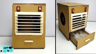 Mini AC yapmayı Karton   evde Güçlü Mini Hava Soğutucu nasıl