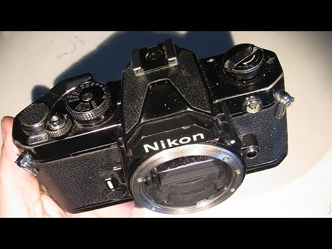 Film advance problem in Nikon FM (maybe some stuck parts