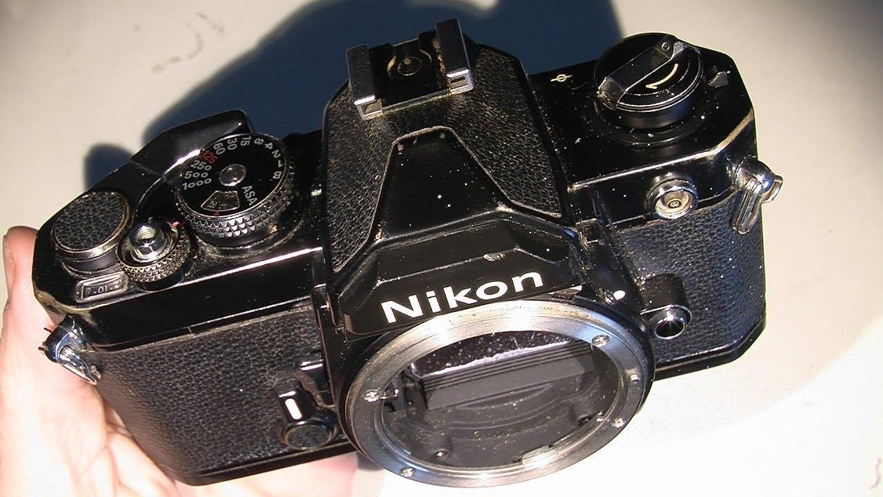 Film advance problem in Nikon FM (maybe some stuck parts)