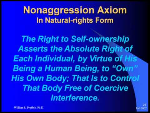 Non-Aggression Axiom & Property Rights
