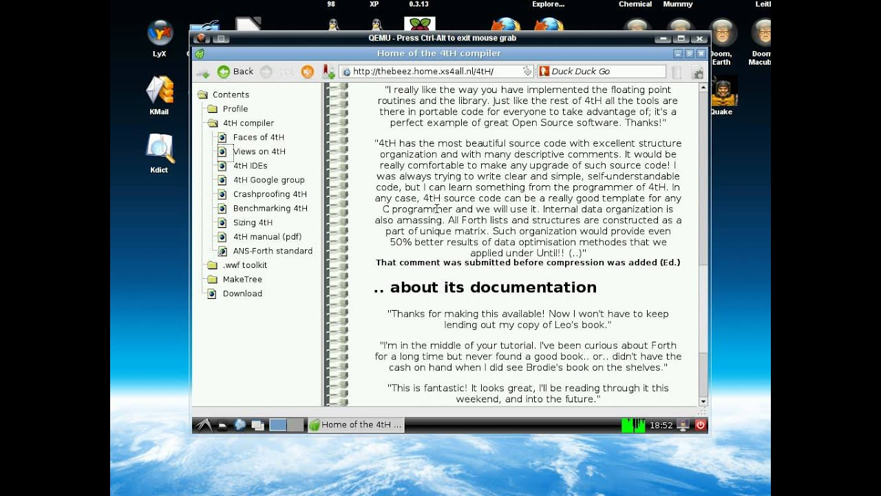 An emulated Raspberry Pi on QEMU/Linux - YouTube