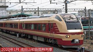 【E653系国鉄色】成田山初詣臨時列車・2020年1月12日
