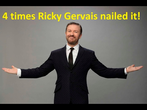 The 4 times Ricky Gervais nailed it!