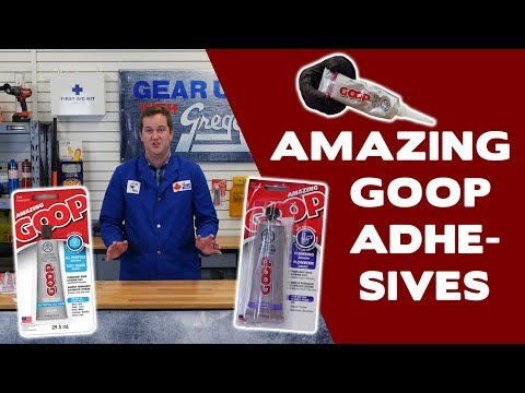 Amazing Goop: The Best Glue You'll Ever Use - Gear Up With Gregg's