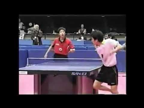 【ハイライト】2004年全日本ジュニアの部 準々決勝 水谷隼 対 清水康充