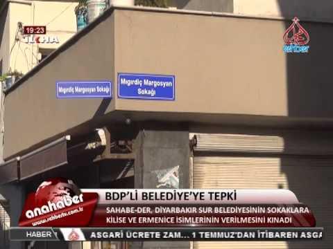 Bdp Diyarbakır Sokakların Ermenistan çevirdi