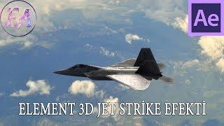 After Effects Dersleri Element 3d Dersi Jet Strike Uçak Efekti