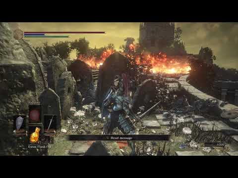 Let's Play Dark Souls 3: The Ringed City - S3 P1 - Ring Wraiths