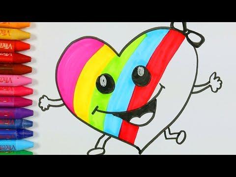 Kolorowanki Jakości HD   Dla Dzieci Filmy   Kolorowanki Serca   Rysowanie I Kolorowanie Dla Dzieci