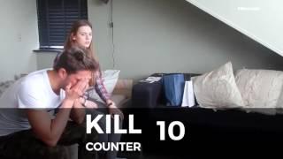 KILL COUNTER: ZWANGER PRANK IK MAAK HET UIT ?!