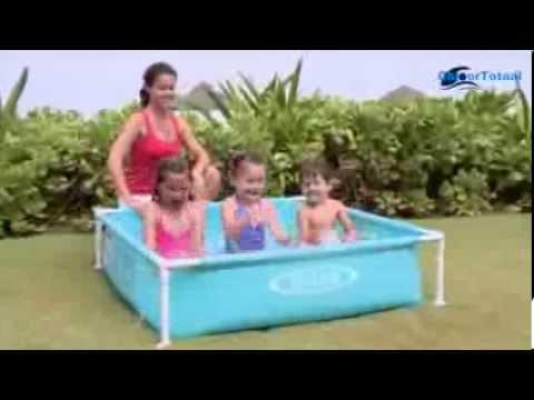 Intex zwembad mini peuterzwembad youtube for Intex zwembad verkooppunten