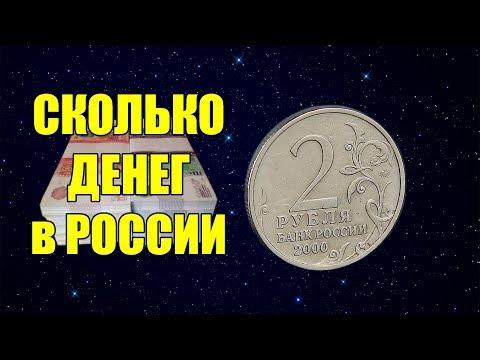 Объем наличных денег в России. Сколько всего монет и банкнот в обращении