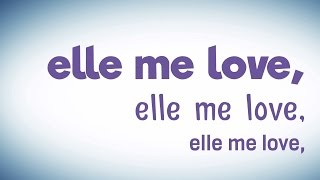 RIDSA - Elle me love [Vidéo Lyrics]