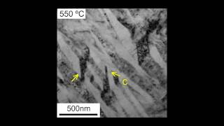 In Situ Transmission Electron Microscopy: Formation Of α