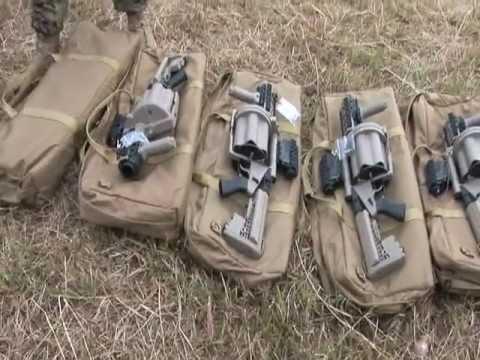 M32A1 Multi-Shot Grenade Launcher
