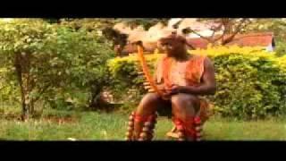 George Kitaka playing Adungu (Bow harp)