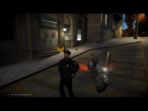 GTA IV LCPDFR 1.0d part 9 BIKE PATROL