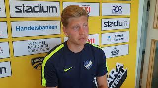 Alexander Fransson tränade med IFK Norrköping på CGA.