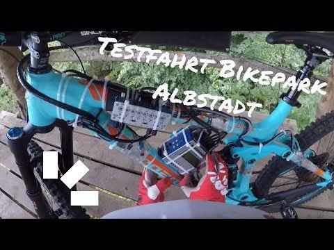 Testfahrt Bikepark Albstadt | Bergamont Encore 9.0 mit Messeinrichtung