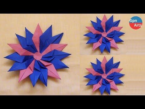 Easy Way to Make Flowers - Paper Craft - Handmade Flower