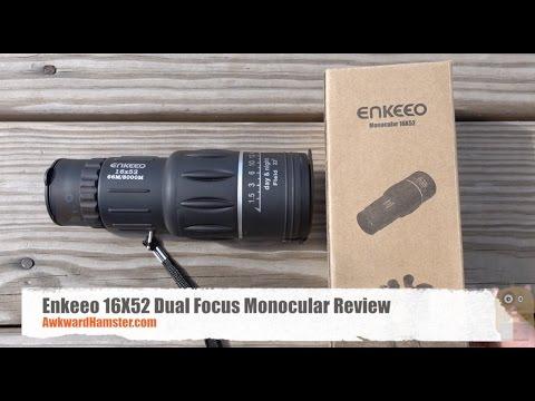 Enkeeo dual focus monocular review youtube