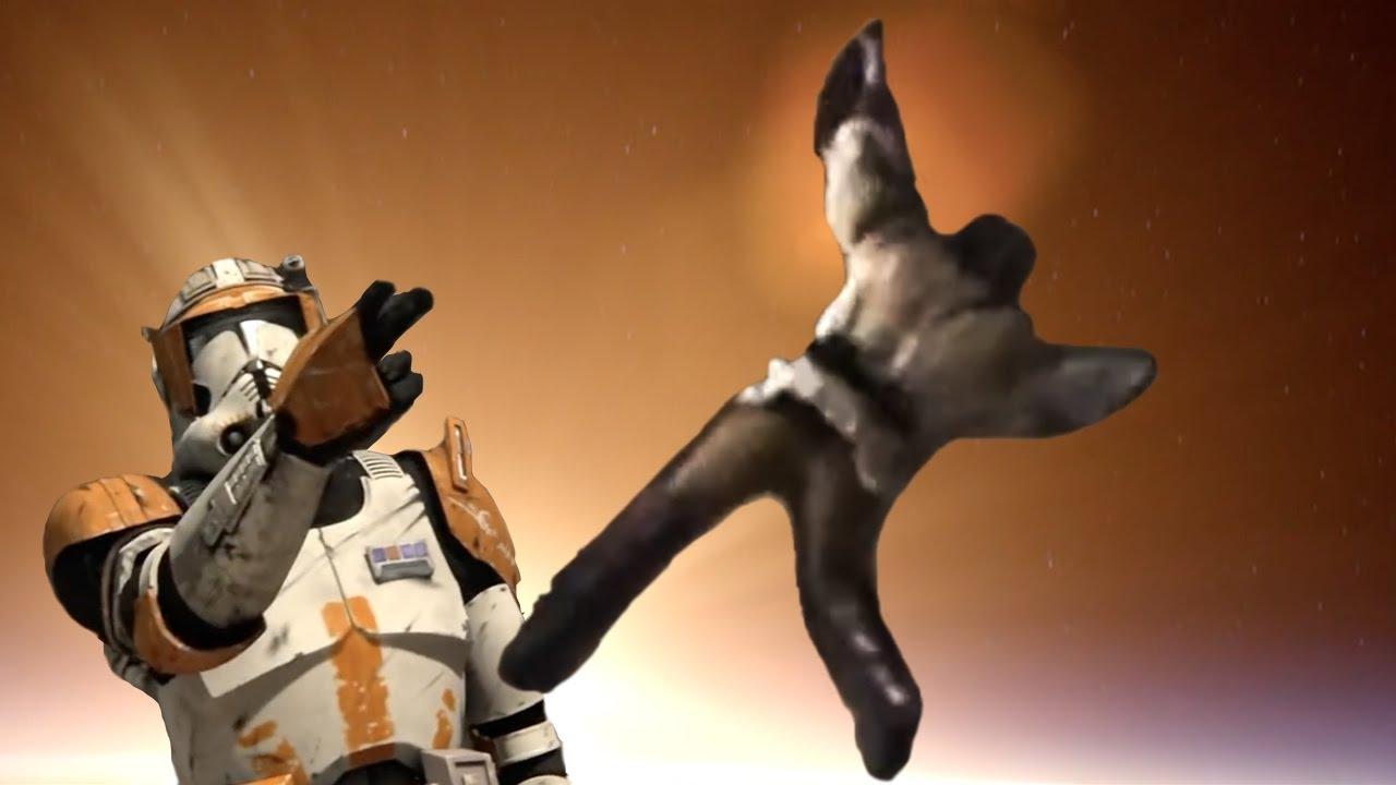 How Obi-Wan survived Order 66 (Star Wars Shooting Stars Meme)