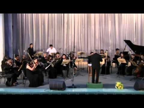 Bafoev - Concerto 'Zikhir Alhak' for Strings, Percussion, Trompet and Piano