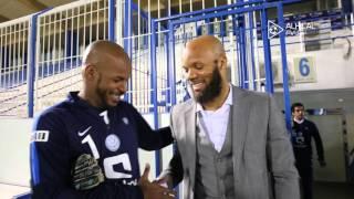 الفرنسي بومسونج يزور نادي الهلال ويلتقي اللاعبين(فيديو) - صحيفة صدى الإلكترونية