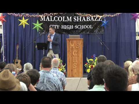 2017 Malcolm Shabazz City High School Graduation