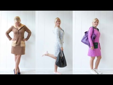 Kleid und Pullover nähen: Anleitung für das Schnittmuster STOCKHOLM | Pech&Schwefel