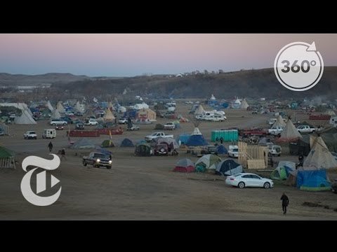 Feeding the Fight at Standing Rock | The Daily 360 | The New York Times
