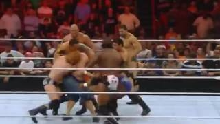 Wwe Hell in a Cell 2016 The Nexus attacks again John Cena FullHD Blooded 10 MAN VS 1   YouTube