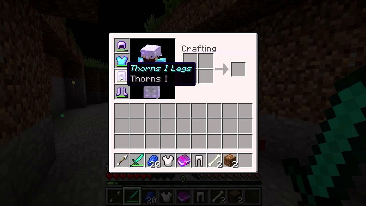 Thorns – Official Minecraft Wiki