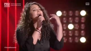 Vocea Romaniei 2016 - Andreea Ilie (Be With You)