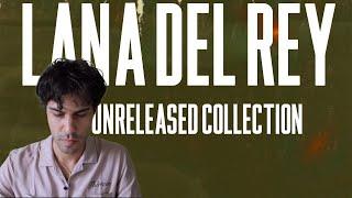 LANA DEL REY UNRELEASED SONGS REACTION (PART 1)