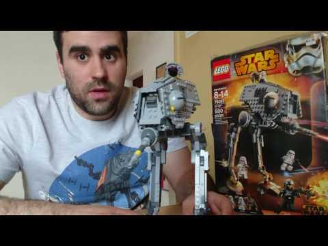 05# Lego Star Wars AT-DP bemutató,  elemzés