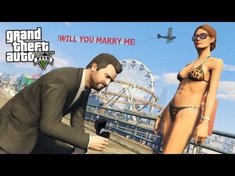 GTA 5 Real Life Mod #37 - PROPOSING TO MY...