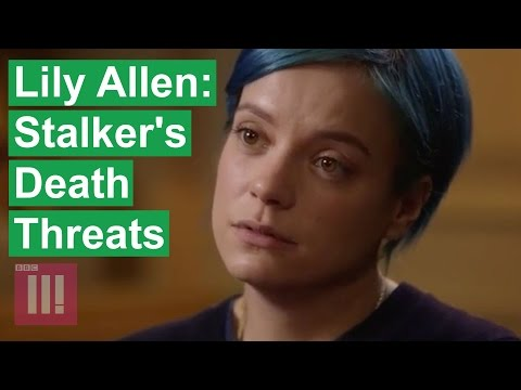 Lily Allen Extended Interview - Stalker's Death Threats