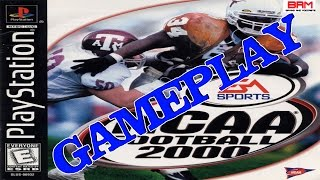 TBT NCAA Football 2000 [PS1] Gameplay (Ohio State vs. Texas)